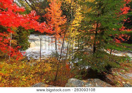Falls River Lanse Michigan