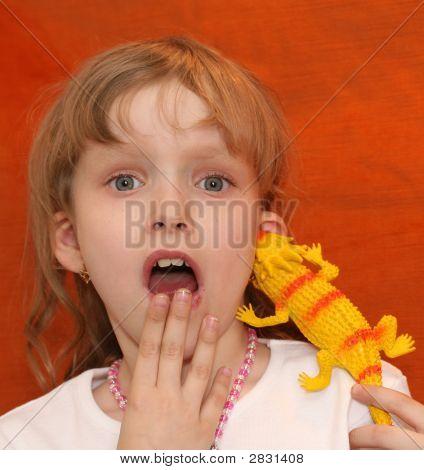 Frightened Girl