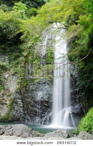 Water Fall At The Mino Quasi National Park In Japan