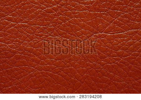 Saturated brown dermatin background for your unique project. poster