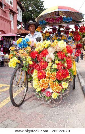 Malacca Bicycle Rickshaw
