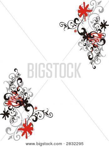 Fantasy Floral Frame