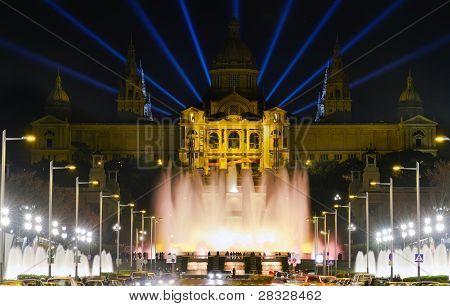Monumental Fountain Barcelona