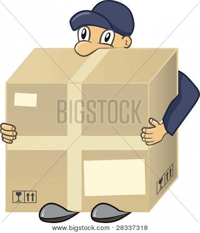 Messenger with big cargo