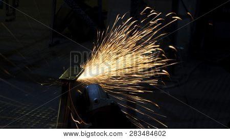 Enterprise Processing Metal. Production Of Metal Structures. Enterprise Processing Metal. Processing