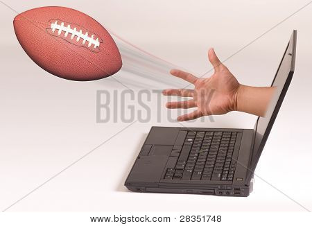 Football and Computer.