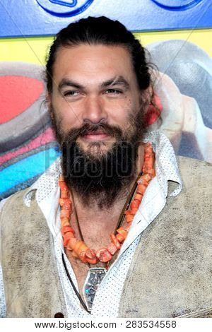 LOS ANGELES - FEB 2:  Jason Momoa at