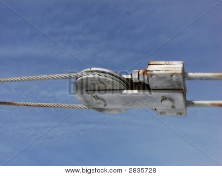 Side View Steel Tension Wire