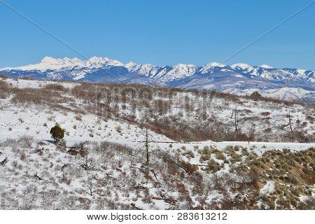 Winter Wonderland At Mesa Verde National Park