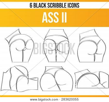 Black Pictograms / Icons About Erotic Women. This Icon Set Is Perfect For Creative People And Design