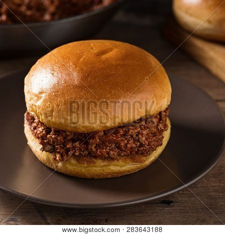 Sloppy Joy - Burger With Minced Meat