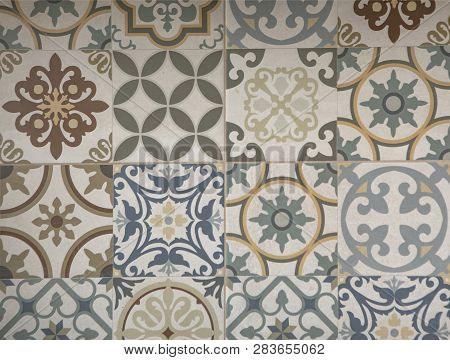 Abstract Art Classic Luxury And Elegant Style Pattern Background In Popular Modern Flower Design Tre