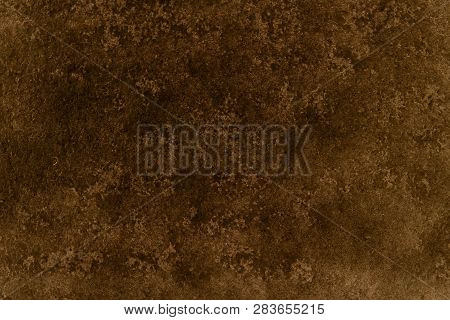 Brown Canvas Grunge Background Or Texture. Close Up