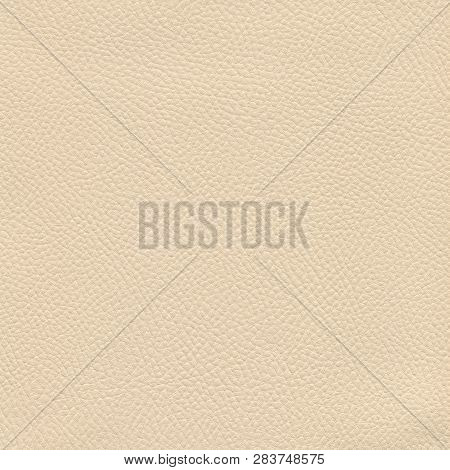 A Textured Brown Leather Background For Designers