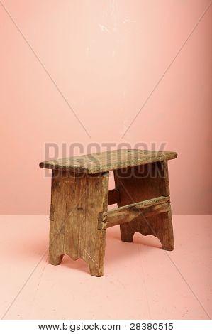 Mini Wood Stool