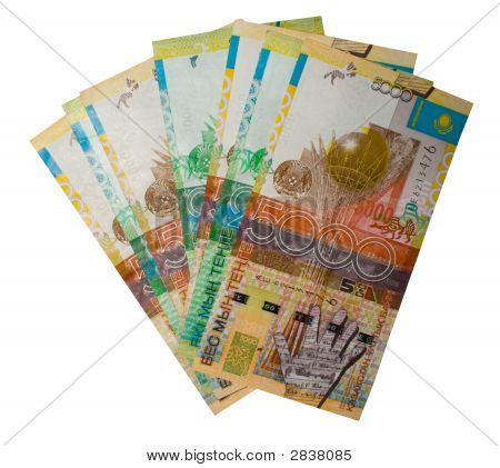 Kasachstan Geld.