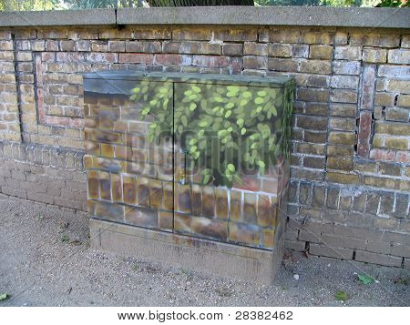 Camouflaged electric box