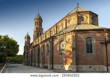 Jeondong Catholic Church, A Historic Site Built In Combination Of Byzantine And Romanesque Architect