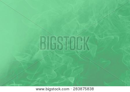 Neo Mint Color 2020. Pastel Shade Of Green, Named Neo-mint 065-80-23. It Is This Menthol Flavor That
