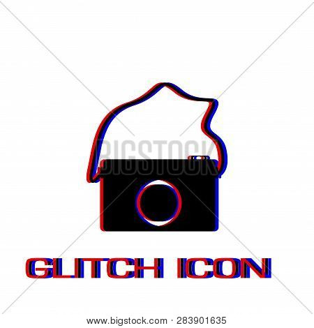 Camera Icon Flat  Vector & Photo (Free Trial) | Bigstock