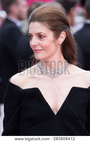 CANNES, FRANCE - MAY 10: Chiara Mastroianni attends the screening of Sorry Angel during the 71st  Cannes Film Festival at Palais des Festivals on May 10, 2018 in Cannes, France.