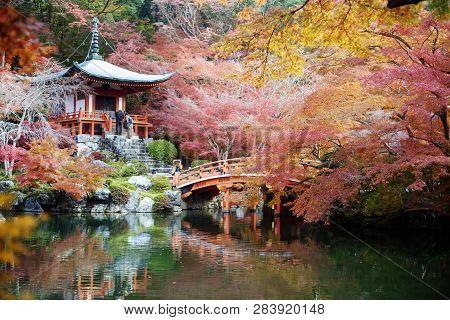 Daigo-ji Is A Sacred Temple Of The Shinji Ancestral Temple In The Tokyu-cho, Fushimi-ku, Kyoto, Japa