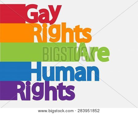 The Inscription, Lgbt Concept, Freedom And The Struggle For Homosexual Rights