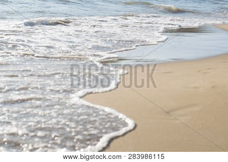 Background Sea, Ocean. Ride The Waves In The Ocean. Sea Waves. Sea Waves. Sea Waves On The Shore Of