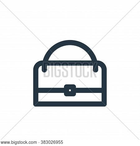 bag icon isolated on white background from style accessories collection. bag icon trendy and modern