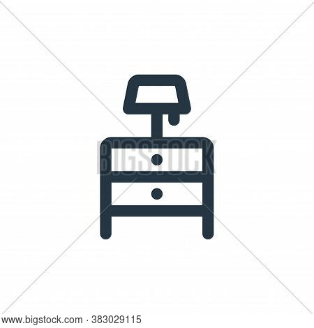 cabinet drawer icon isolated on white background from furniture collection. cabinet drawer icon tren
