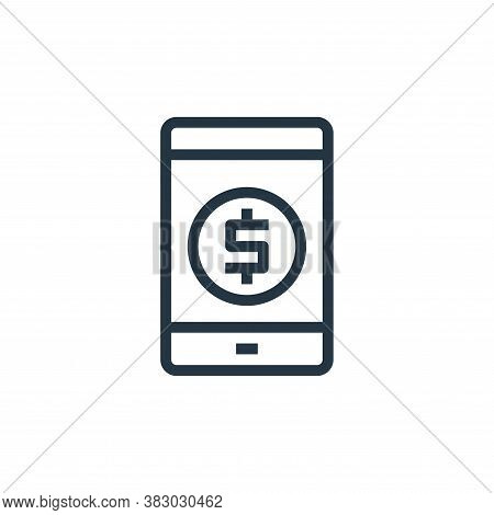 payment icon isolated on white background from business and money collection. payment icon trendy an