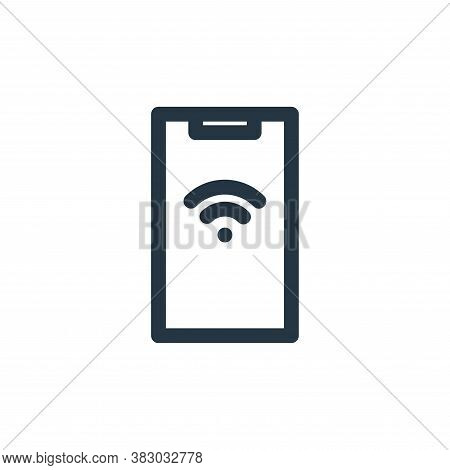 wifi icon isolated on white background from technology collection. wifi icon trendy and modern wifi