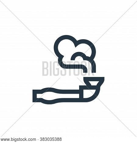 smoking icon isolated on white background from morocco collection. smoking icon trendy and modern sm