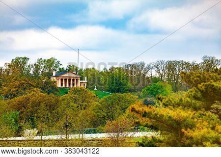 Arlington Cemetery And House Of The Robert E. Lee Memorial Near Washington Dc