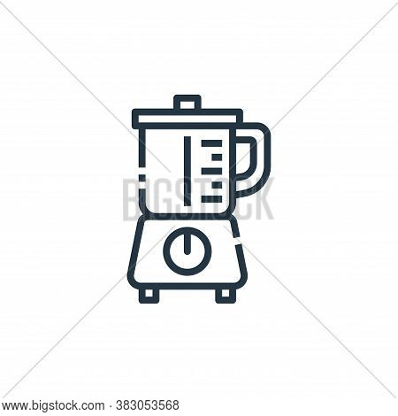 blender icon isolated on white background from cooking collection. blender icon trendy and modern bl
