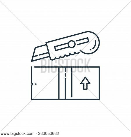 cutter icon isolated on white background from labour day collection. cutter icon trendy and modern c