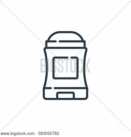 deodorant icon isolated on white background from hygiene routine collection. deodorant icon trendy a