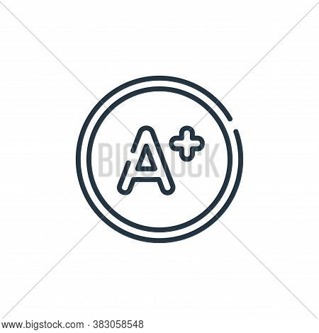 score icon isolated on white background from digital learning collection. score icon trendy and mode