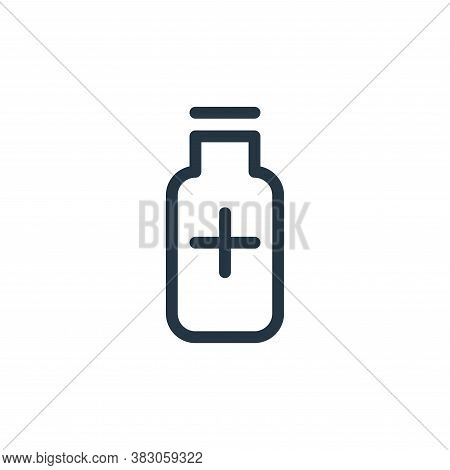 medicine icon isolated on white background from medicine collection. medicine icon trendy and modern