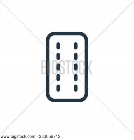 blister pack icon isolated on white background from medicine collection. blister pack icon trendy an