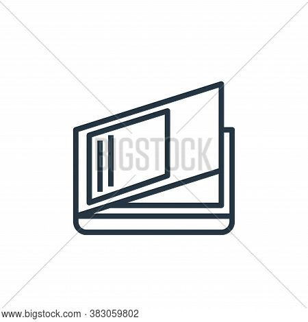 scanner icon isolated on white background from computer hardware collection. scanner icon trendy and