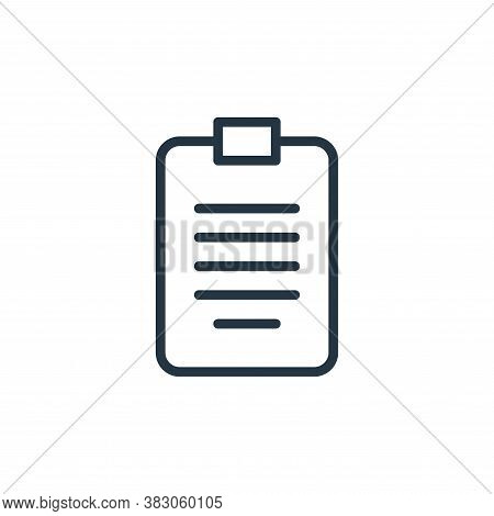 report icon isolated on white background from working in the office collection. report icon trendy a