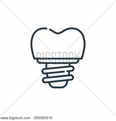 crown icon isolated on white background from dentist collection. crown icon trendy and modern crown