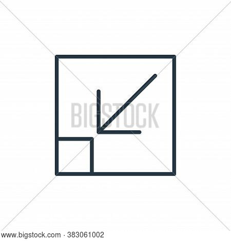 scales icon isolated on white background from user interface collection. scales icon trendy and mode