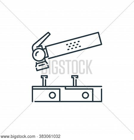 hammer icon isolated on white background from labour day collection. hammer icon trendy and modern h