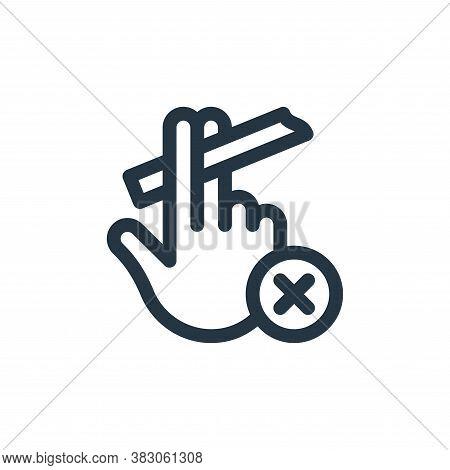 quit smoking icon isolated on white background from quit smoking collection. quit smoking icon trend