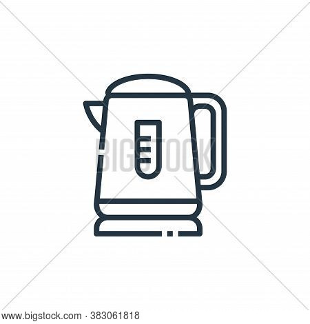 kettle icon isolated on white background from cooking collection. kettle icon trendy and modern kett
