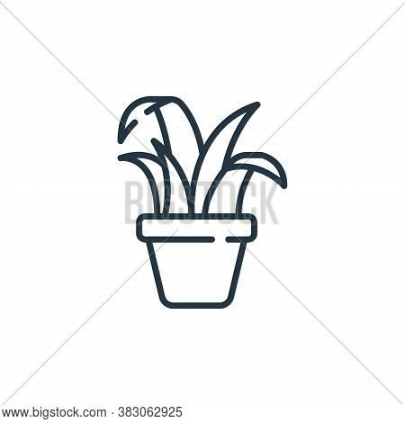 plant icon isolated on white background from ecology collection. plant icon trendy and modern plant