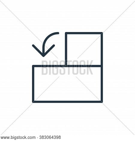 rotate left icon isolated on white background from user interface collection. rotate left icon trend