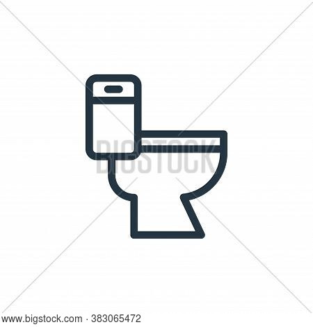 restroom icon isolated on white background from daily life wake up collection. restroom icon trendy